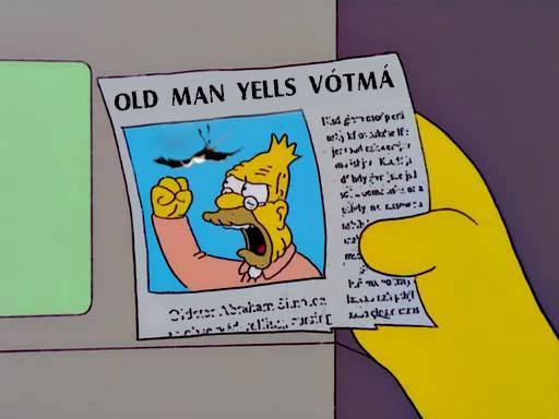 old man votma
